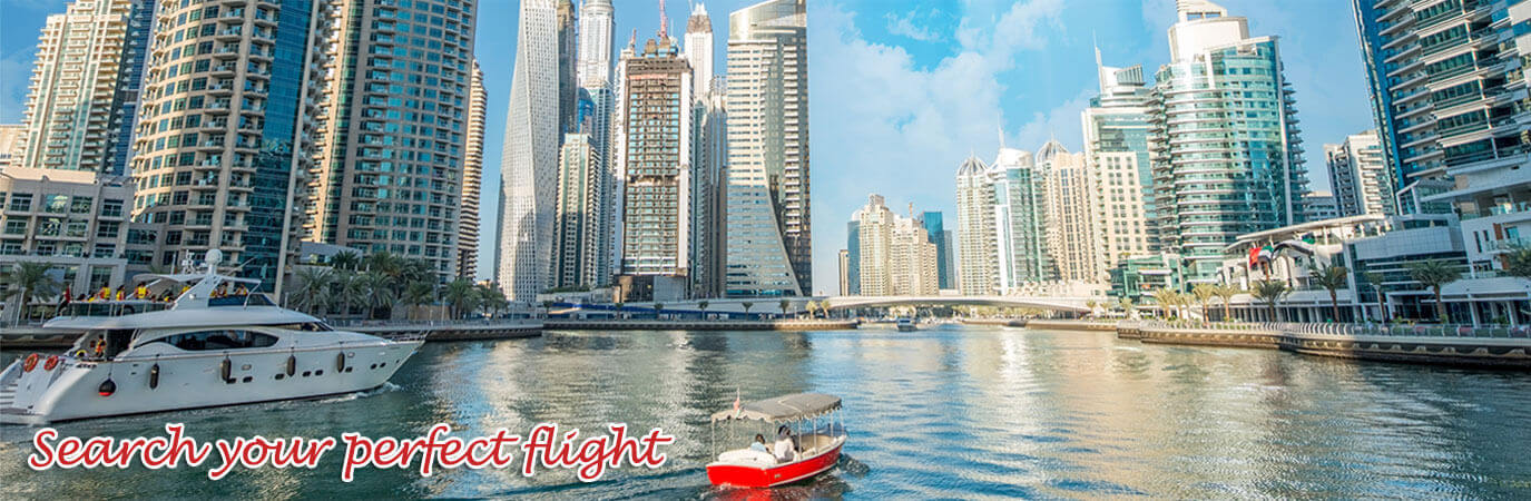 Book Flights to Dubai